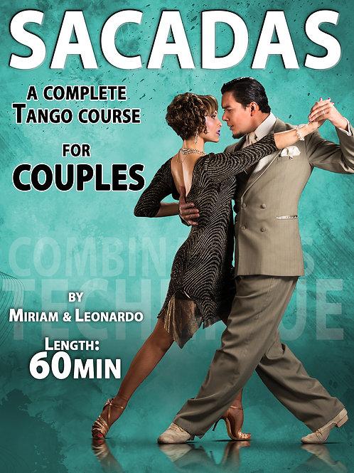 """""""SACADAS""""  (Downloadable Tango Course for Couples)"""