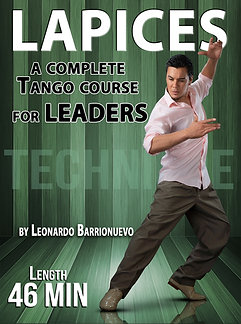 """""""LAPICES""""  (Downloadable Tango Course for leaders)"""