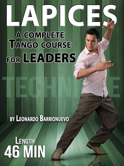 """LAPICES""  (Downloadable Tango Course for leaders)"
