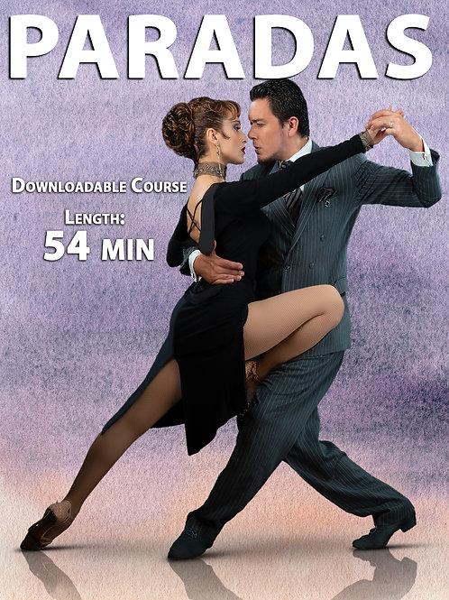 """""""PARADAS""""  (Downloadable Tango Course for Couples)"""