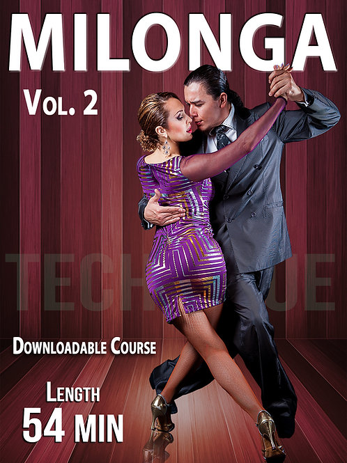 """MILONGA Vol. 2""  (Downloadable Tango Course for Couples)"
