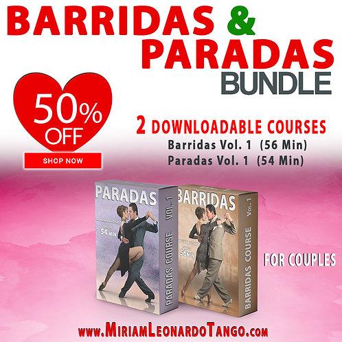BARRIDAS & PARADAS   (Bundle)