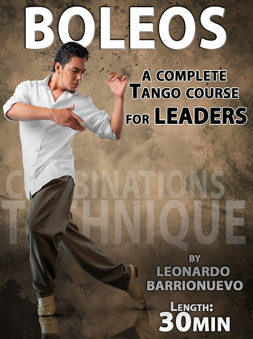 """BOLEOS""  (Downloadable Tango Course for leaders)"