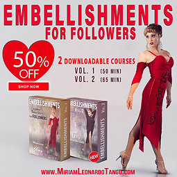 FOLLOWER'S EMBELLISHMENTS  ( 2 Downloadable Courses)
