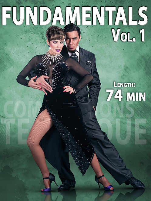 """FUNDAMENTALS  Vol. 1""  (Downloadable Tango Course for Couples)"