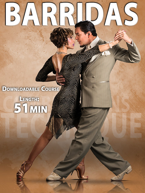 """BARRIDAS  Vol. 1""  (Downloadable Tango Course for Couples)"