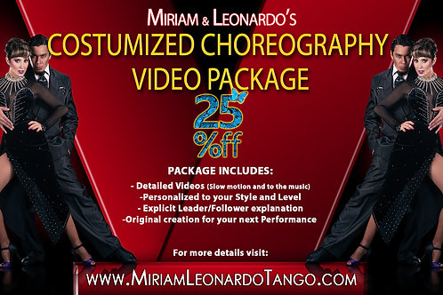 Choreography Video Package (Level 3)