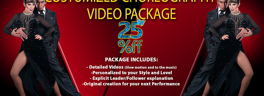 Choreography Video Package (Level 1)