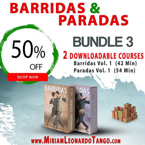 """BUNDLE # 3   (""""Barridas & Paradas"""")"""