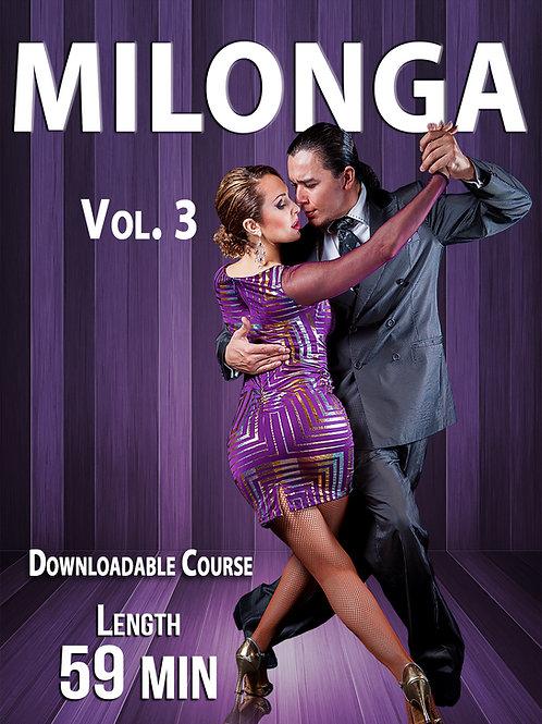 "MILONGA Vol. 3""  (Downloadable Tango Course for Couples)"