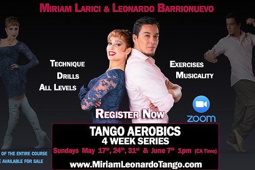 1 Class: TANGO AEROBICS (2 people)