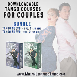 """""""TANGO NUEVO""""  (2 Downloadable Courses for Couples)"""