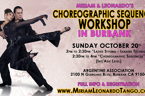 Choreographic Sequences in Burbank (SINGLE)