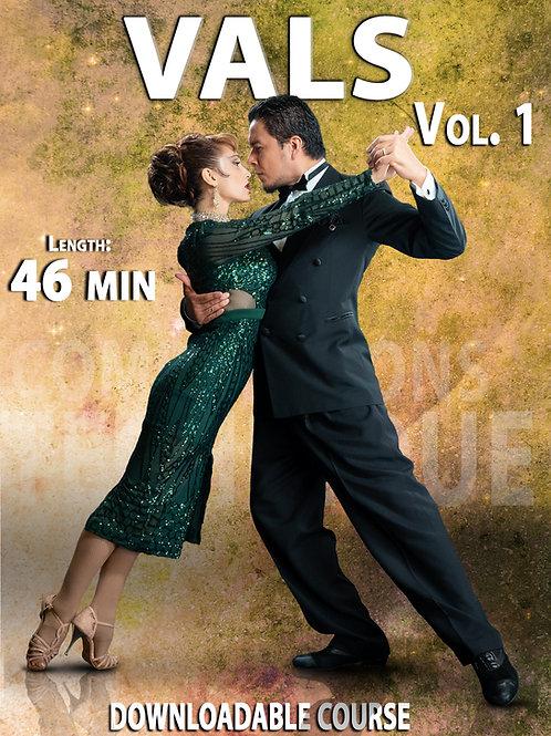 """VALS Vol. 1""  (Downloadable Tango Course for Couples)"