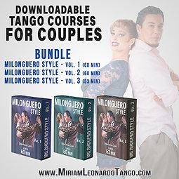 MILONGUERO STYLE  (3 Downloadable Courses)