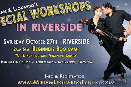 RIVERSIDE -  2pm to 3pm Workshop