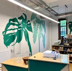 Plant Mural, The Art House, 2021