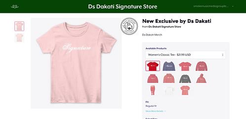 Ds Dakati Signature Store