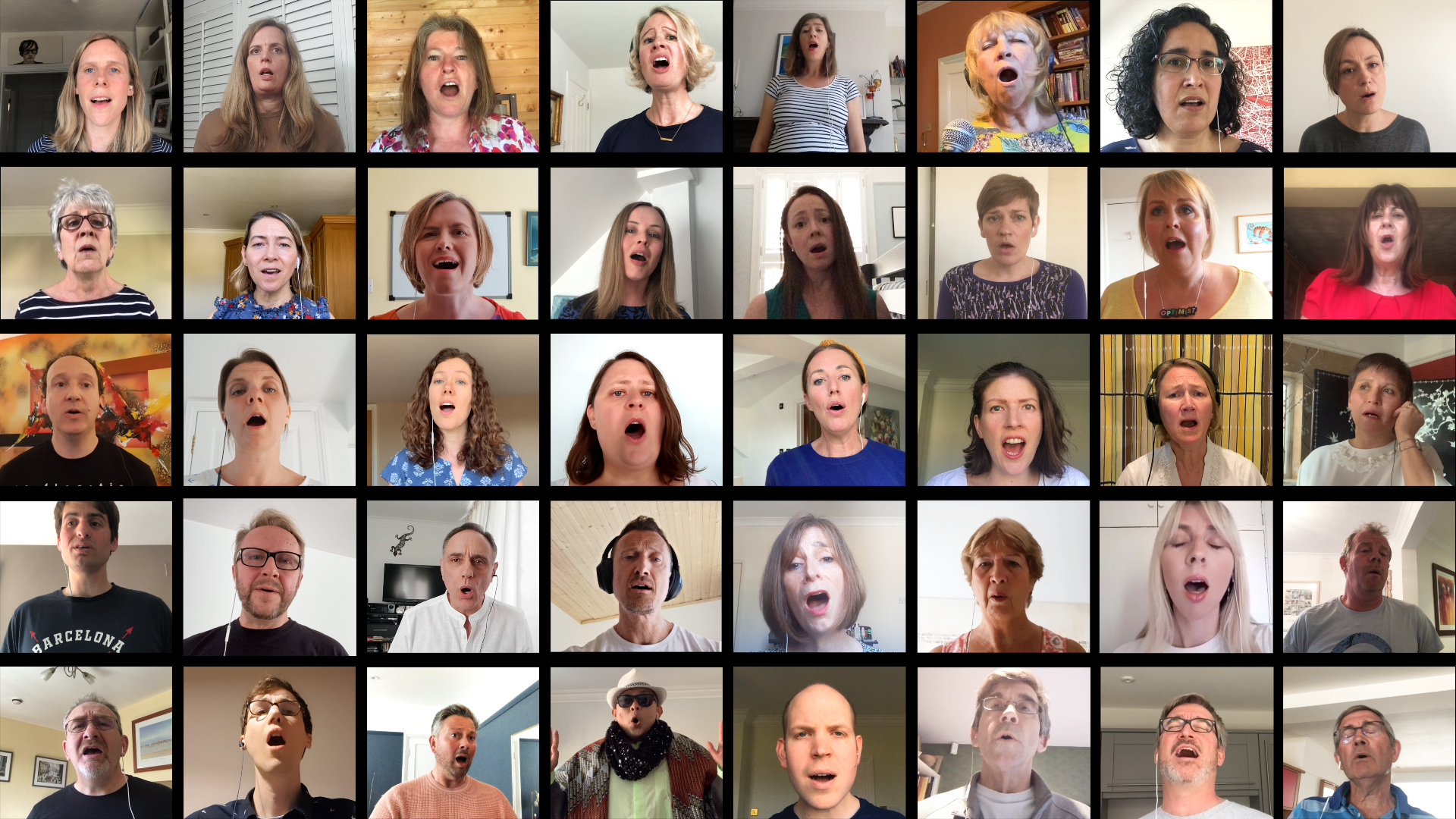 Shallow Virtual Choir Video