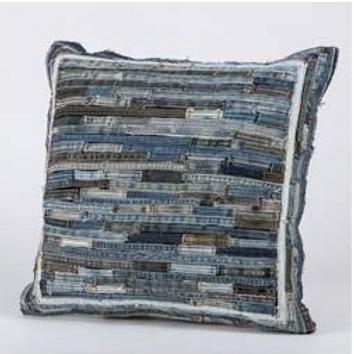 Denim Pieced Pillow