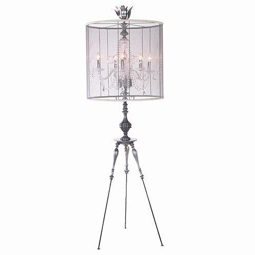 Oversized Chandelier Floor Lamp