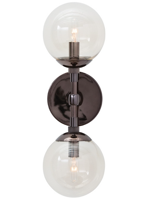 Smoke Glass Sconce