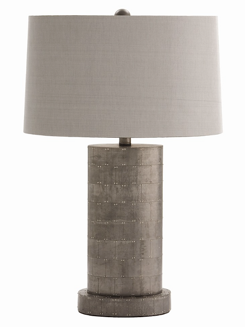 Metal Oval Table Lamp