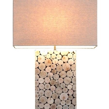 Wood Slice Table Lamp