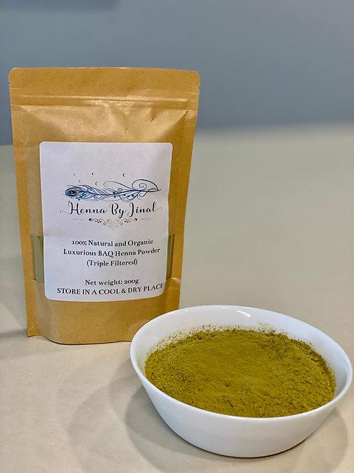 100% Natural and Organic Henna Powder