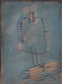 portrait kalt blau