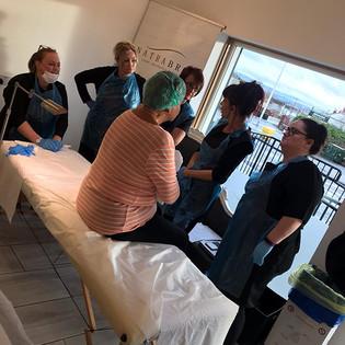 Group Aesthetics Training with Louise Bain