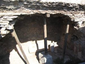 Paul's prison cell in Philippi, Greece