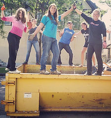 Godtown garbage day!