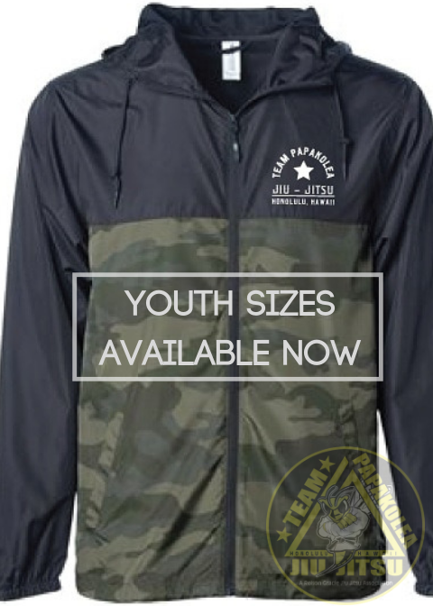 Youth Camo Windbreakers