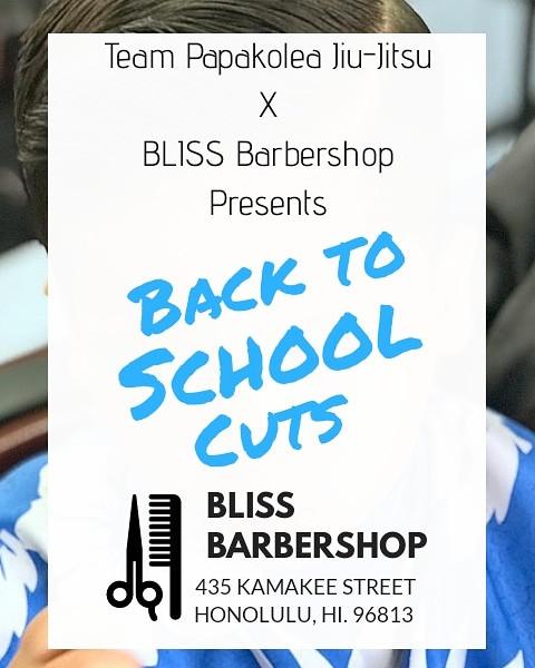 Back to school haircuts!