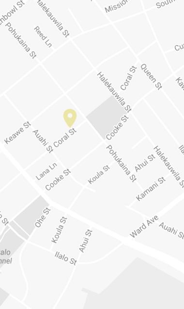 Kakaako Location Map