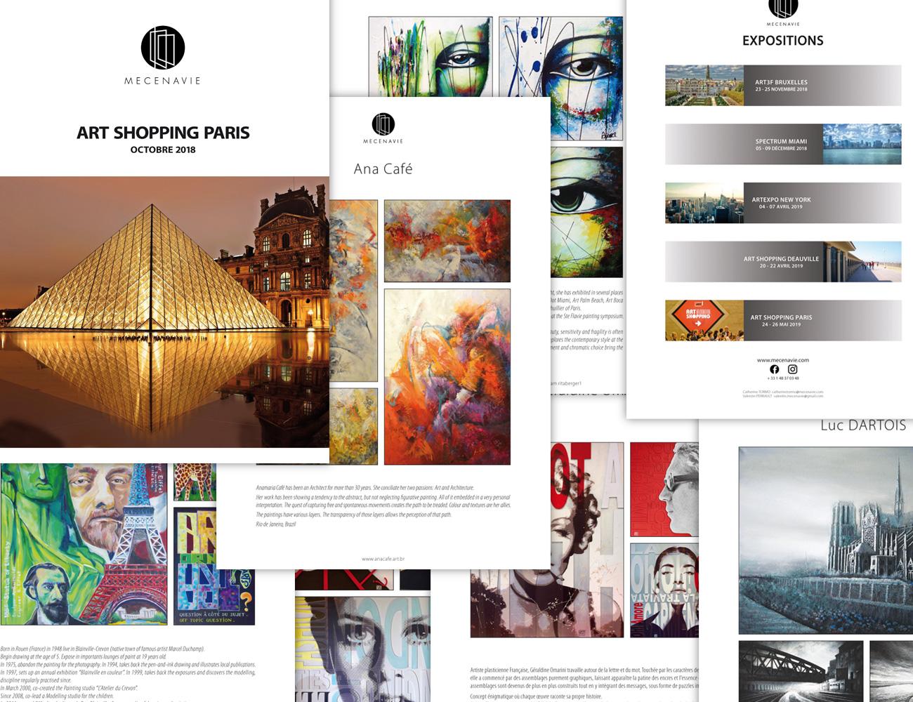 Mecenavie catalogue artistes