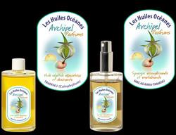 Etiquettes huile de massage