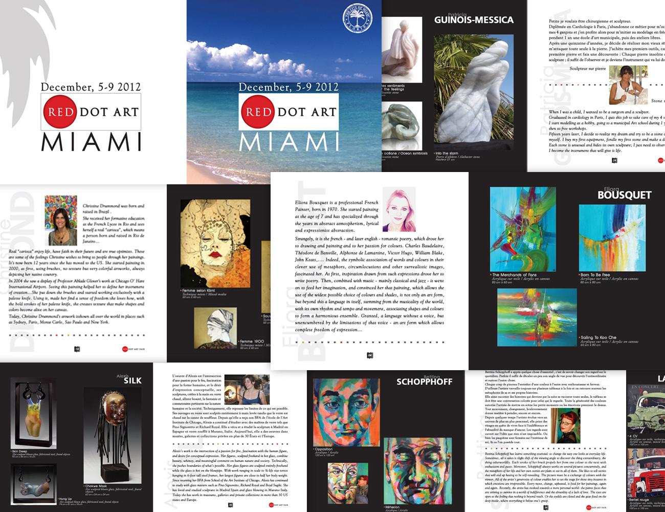 Catalogue artistes