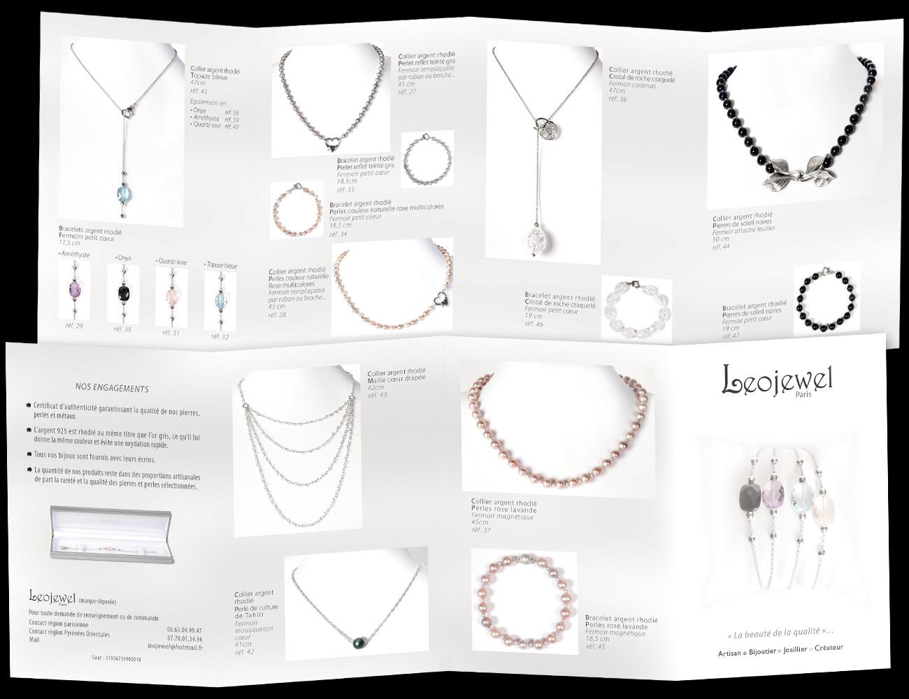 Dépliant Catalogue