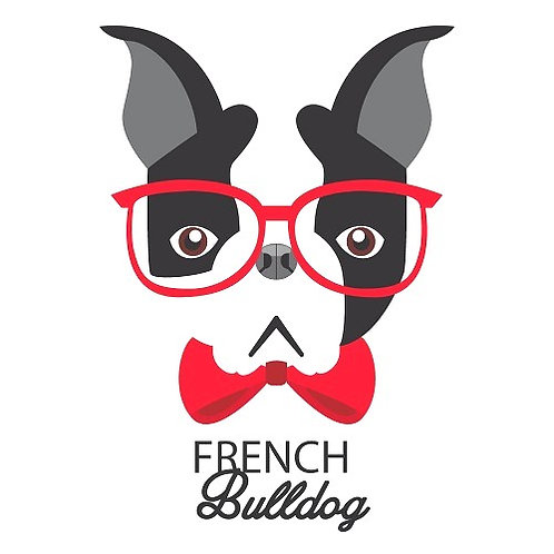 Motif thermo-adhésif French Bulldog