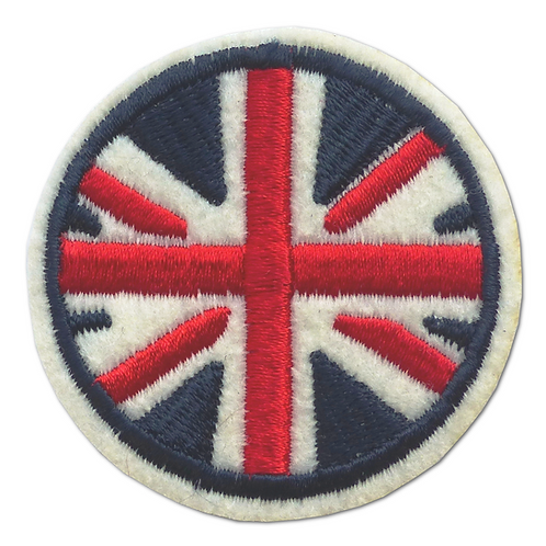 Ecusson thermocollant drapeau anglais