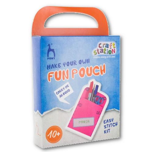 Kit  pochette rose avec nom