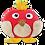 Thumbnail: Kit oiseau rouge enfants