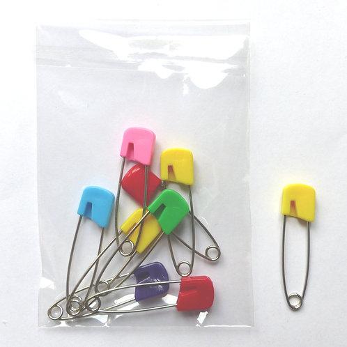 Epingles à nourrice colorées - petites