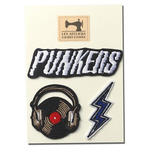 Plaquette d'écussons Punkers