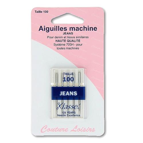 Aiguilles machine spéciales jean T.100