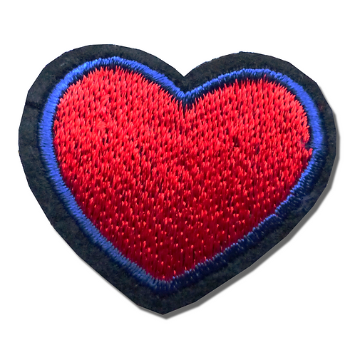 Ecusson thermocollant coeur
