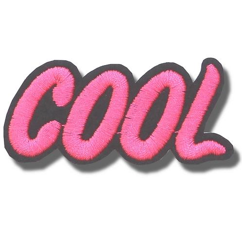 Ecusson thermocollant cool
