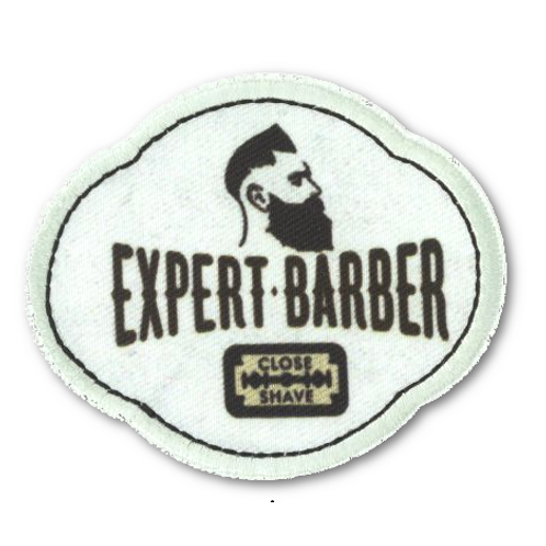 Ecusson thermocollant expert barber